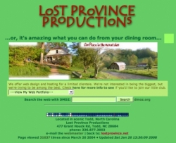 Lost Province Productions The Hilbilly Geek